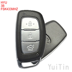 HYUNDAI elentra-Verna smart card 3 button-FSK433MHz-7952Achip FCCID:95440-3X510(after-market)