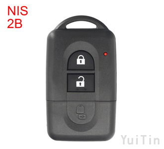 Nissan Smart remote shell 2 buttons NSN14