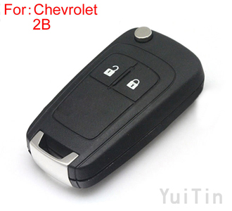 [CHEVROLET] remote key shell 2 button