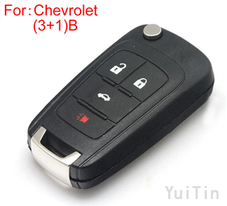 [CHEVROLET] remote key shell (3+1)buttons